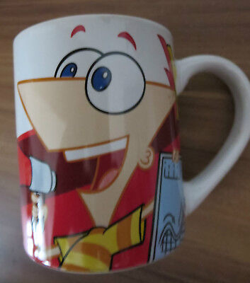Disney Becher Phineas and Ferb Top Zustand