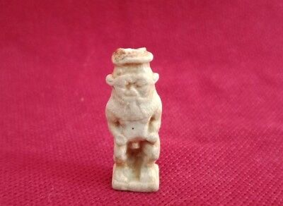 Faience Amulet Bes Ancient Egyptian Ptolemaic Art pharonic antiques