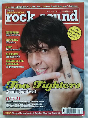 Revista Rock Sound Nº55 - Foo Fighters, Disturbed, Snapcase, Glassjaw, QOTSA