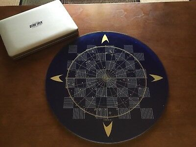 Star Trek Checker Set Franklin Mint