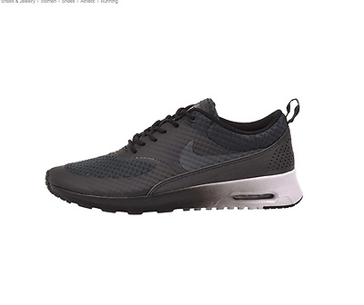 NIKE AIR MAX Thea PRM BLACKANTHRACITE METALLIC SILVER WHITE