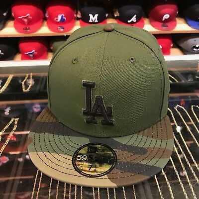 sneakers for cheap 68b74 5b100 ... good new era los angeles la dodgers 2017 memorial day fitted hat green  camo 1cbf8 27bdd