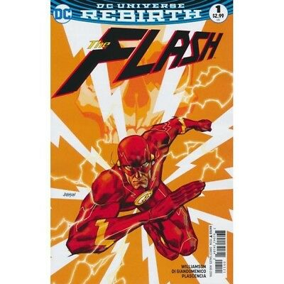 THE FLASH #1 - Dave JOHNSON VARIANT 1ST PRINT - VF/NM