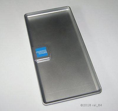 (5) Restaurant Guest Check Tip Tray, Cash/Credit Card Holder, AMEX