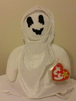 Ty Beanie Baby ~ SHEETS the Halloween Ghost ~ MINT with MINT TAGS ~RETIRED