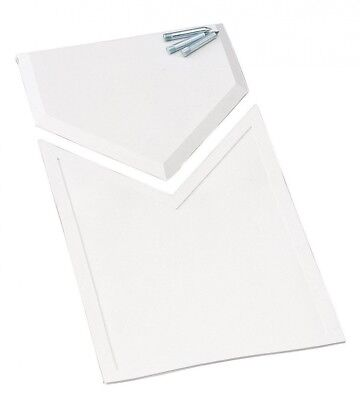 (OS, White) - Champion Sports HomePlate Extension. Delivery is Free