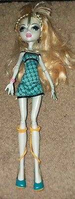 Monster High Dead Tired Lagoona Blue Free Shipping!