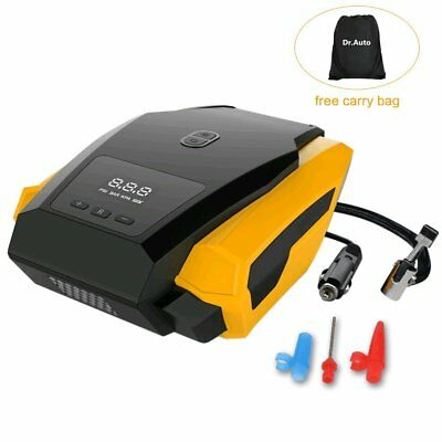 Digital Portable Car Air Compressor Heavy Duty Inflator Tire Pump 12V, 35 L/min