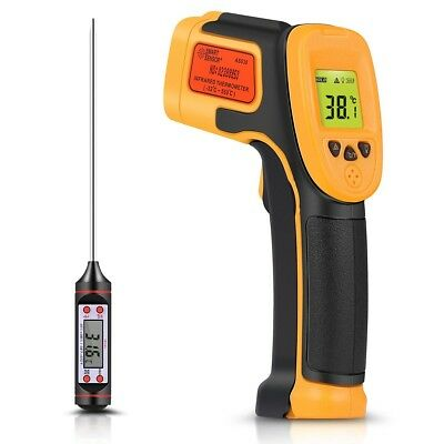 Infrared Thermometer, Digital IR Laser Thermometer Temperature Gun -26°F~1022°