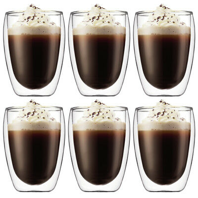 Bodum Pavina 6Pc Double Wall Thermo Glasses 350Ml Rrp$89.95