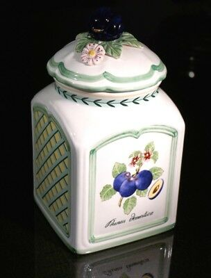 Beautiful Villeroy Boch French Garden Charm Plum Canister