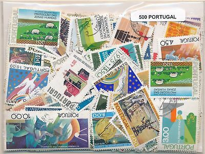 Portugal Package 500 stamps different