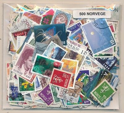 Norway Package 500 stamps different