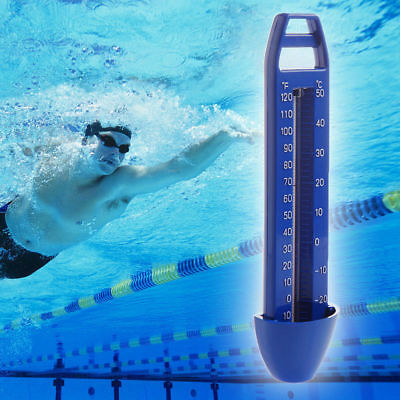 Pool Thermometer -30~50℃ Schwimmbadthermometer Wasserthermometer Teich Analog