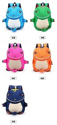 3D Animal Waterproof Backpacks Kids Dinosaur Children School Bags For Girls Boys