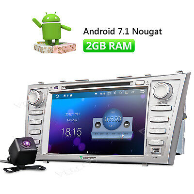2Din Android 7.1 Car DVD Player Radio HDMI For Toyota Camry 2007-2011 GPS Navi w