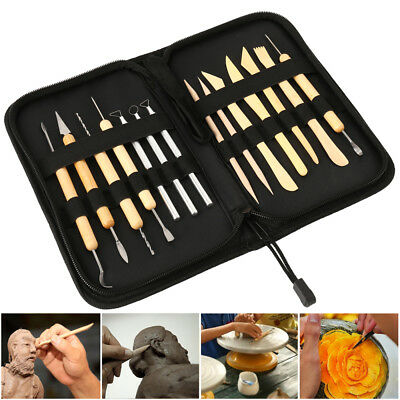 14pcs Wood Wax Clay Soap Carvers Tool Modelling Carving Sculpting Pottery Craft