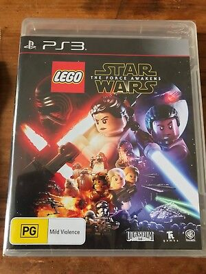 Lego Star Wars The Force Awakens Ps3 Sony Playstation 3 Aus Pal Brand New Sealed