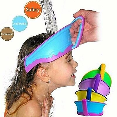 cap shower child Cap Visor Adjustable protects the eyes of the shampoo