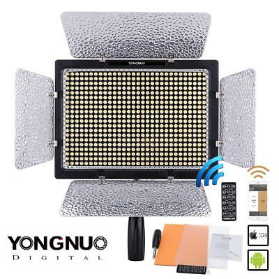 YONGNUO YN-600L II LED Video Studio Photography Light Lamp For Nikon DSLR Camera