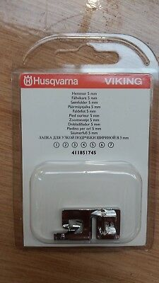 Husqvarna Viking 5mm Narrow Hemmer Foot 411851745 Fits most Viking machines