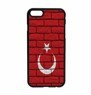 Turkish Turkey Old Wall Flag design Rubber Case for iPhone Samsung  D3