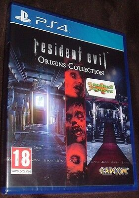 Resident Evil Origins Collection Playstation 4 PS4 NEW SEALED Free UK p&p UK Pal