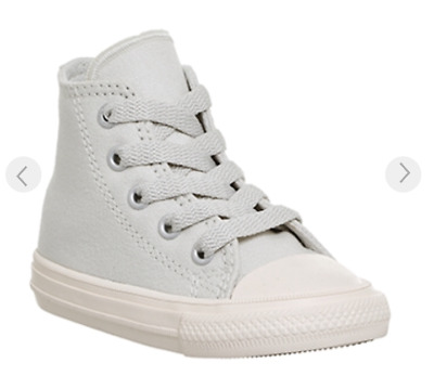 Boy/Girl Converse High Top Trainers - All Star Chuck Taylor 2 Grey BNIB Kids 5-2
