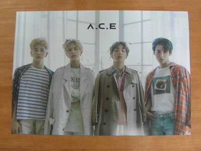 A.C.E - ACE Adventures in Wonderland (Ver. A) [OFFICIAL] POSTER K-POP *NEW*