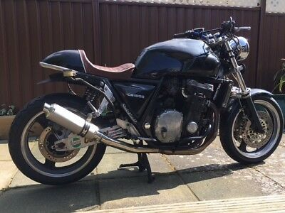 1993 Honda CB1000 Big One Cafe Racer Brat Project Running Bike