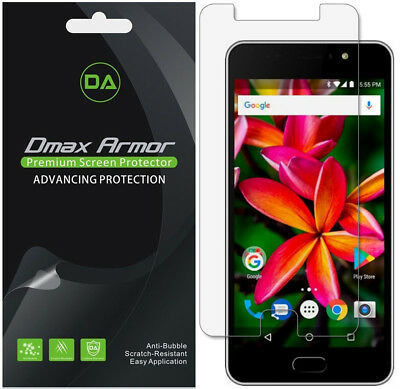 6-Pack Dmax Armor HD Clear Screen Protector shield for Orbic Wonder