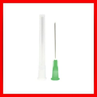 "BD Microlance™ 3 Needles STERILE HYPODERMIC GREEN  21G X 1 1/2"" 0.8mm X 40mm"