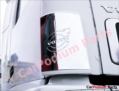 VOLVO FH12  FH13  2001-2015 Front Blind Side Spoiler Stainless Steel 2 pcs.
