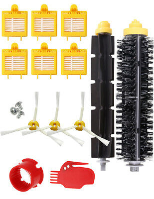 KIT COMPLETO ROOMBA 776p. 6 filtros, 1 pack rodillos, 3 cepillos, 2 limpiadores.