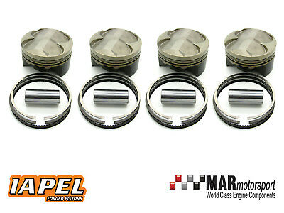 VAUXHALL C20XE / Red Top 2 0 16v Hi Comp (3 Ring) IAPEL Forged Pistons  88 00mm