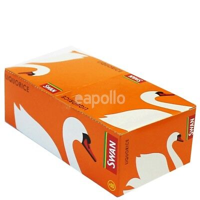 Swan Liquorice Rolling Paper Pack of 50 Booklets Roll Your Own