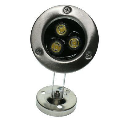 IP68 Underwater Light 3LED Blue Spot Light for Garden Pond Pool Waterproof