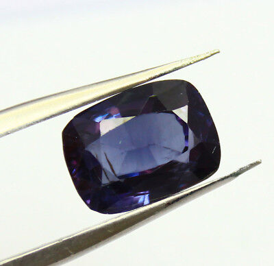 7.55Ct Certified Natural Gorgeous Color Changing Alexandrite Loose Gems AX4450