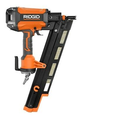 RIDGID NAIL GUN 21 Degree 3-1/2 in. Round-Head Framing Nailer ...