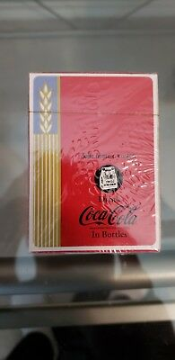 Reproduction 1939 Deck Of Coca Cola Playing Cards, Complete 52 Cards + Joker