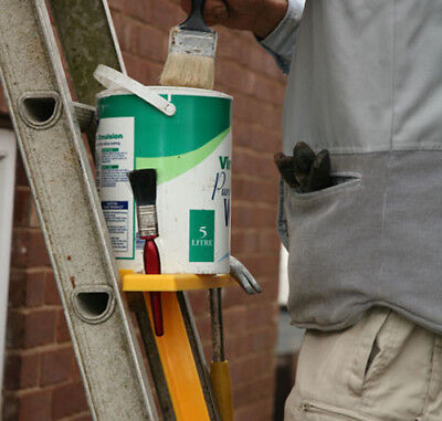 Paint holder or tool holder ladder attachment, great present.