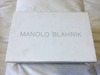 Manolo Blahnik Empty Rectangle Shoe Storage Box