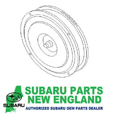Genuine Subaru Converter Assembly Torque 31100AB172