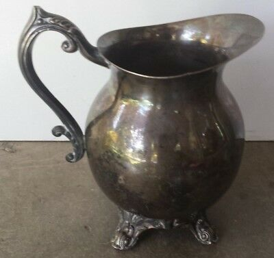 "Vintage F.B. Rogers Silver Small Water Pitcher #2352 5 1/2"" Tall"