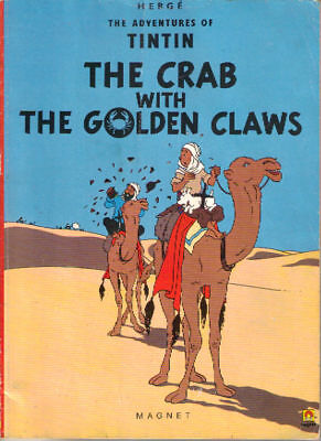 Herge's Adventures of Tintin, The Crab with the Golden Claws, 1984 reprint