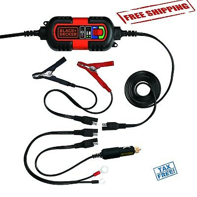 Car RV Truck Motorcycle Automatic Battery Charger 6V 12V Amp Volt Smart Maintain