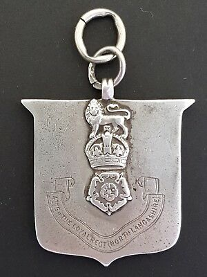 The Loyal Regiment (North Lancashire) Silver Medal 1935 - H.Knight