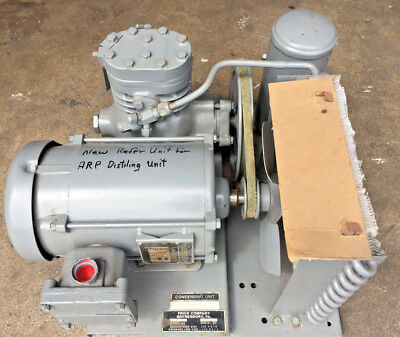 FRICK Co. Refrigeration/Condensing unit with a explosion proof motor