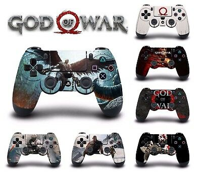 NEW God of War 4 Game Skin For PS4 Sony Playstation 4 Controller Skin Stickers