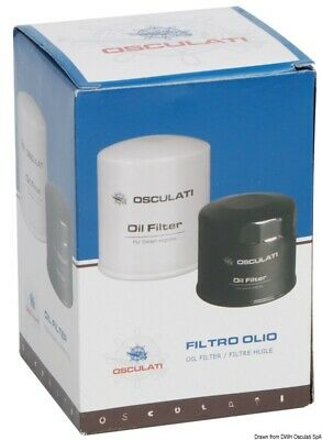 Oil Filter for Suzuki 4-Stroke DF 8/20HP Osculati